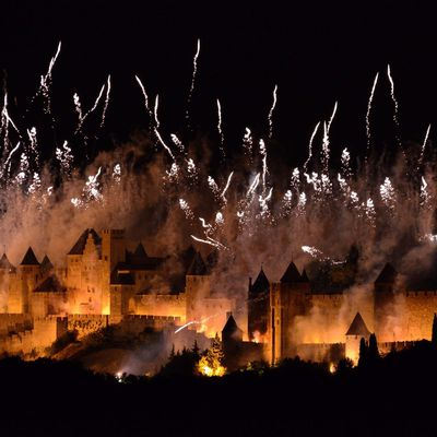 Feu d'artifice - Carcassonne - The End