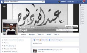 Ma page Facebook est à nouveau active