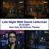 U2 -Late Show with David Letterman -Théâtre Ed Sullivan -New York -29/10/2001 - U2 BLOG
