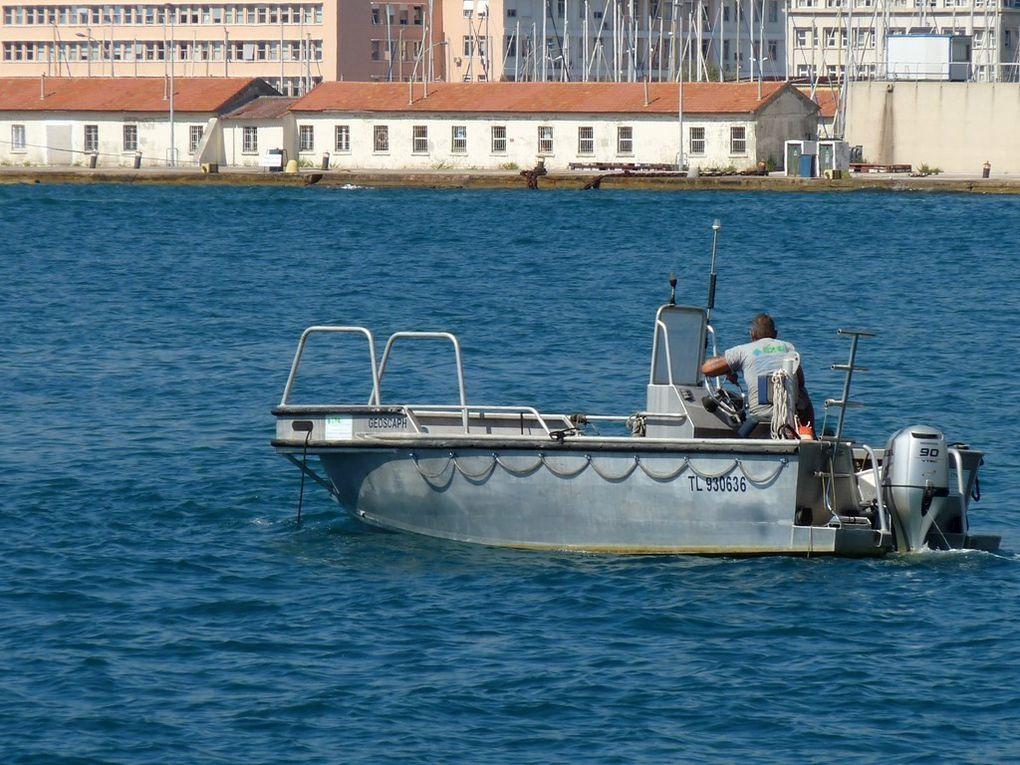 Géoscaph, vedette de servitude  du port de Toulon
