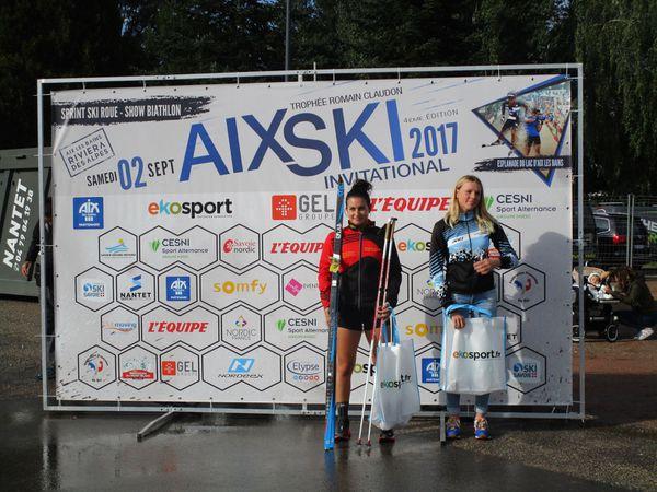 Résultats du Aix Ski Invitational 2017.