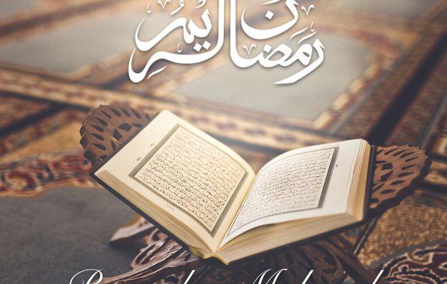 Bon Ramadan à tous !