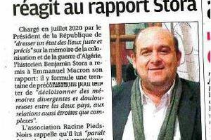 RAPPORT STORA: Communiqué du président de Racine Pieds-Noirs, Christian FENECH