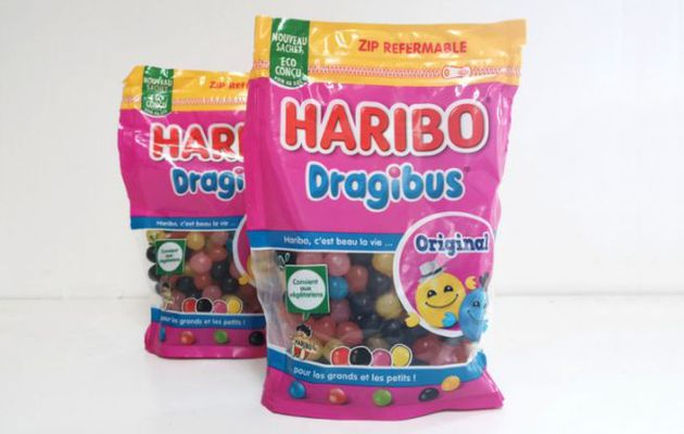 Packaging : nouvel emballage recyclable pour la marque HARIBO