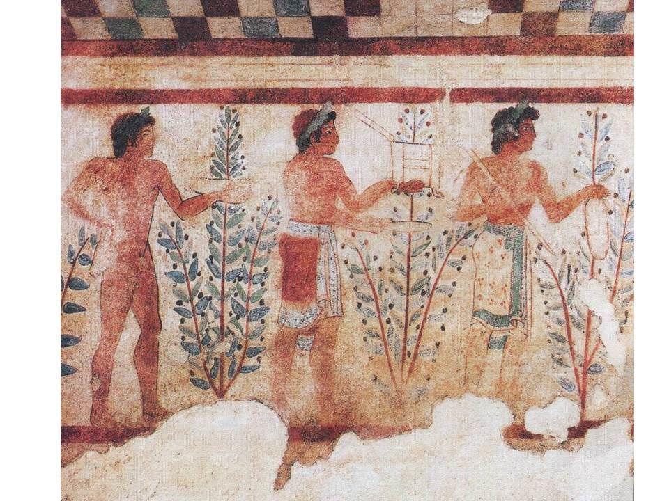 quelques images du cours sur les Etrusques