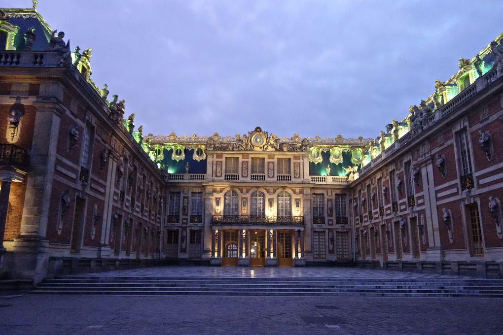 VERSAILLES  (quartier Saint Louis, jardins du château, Pièce d'eau des Suisses...) 🇫🇷