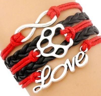 BRACELETS FANTAISIE LOVE DOG