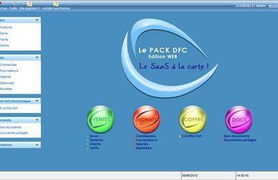 Gratuit : Nous vous invitons à essayer le logiciel de gestion pack DFC édition web