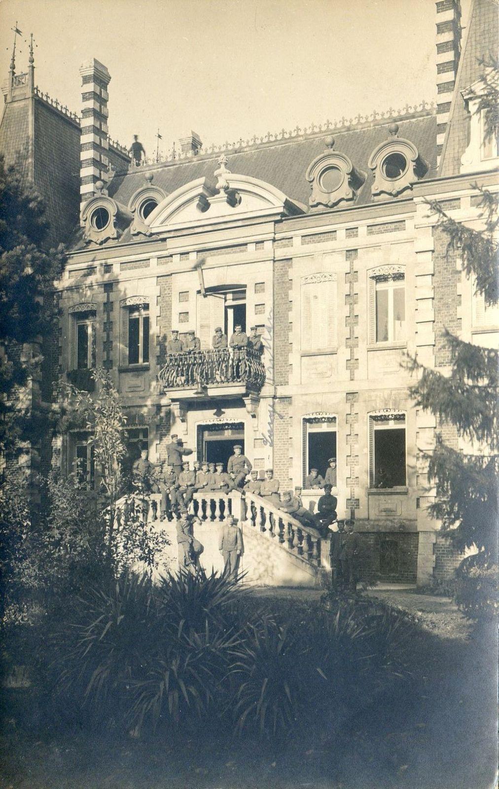 Album - la ville de Noyon (Oise), le centre d'apprentissage, les écoles rue d'Orroire