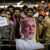 Right-wing Hindu nationalists in India have mobilized to back Modi.