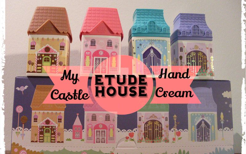 My Castle Hand Cream d'Etude House, juste sublime...