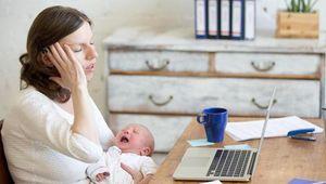 Quedarse en casa con niños es mucho más duro que ir a trabajar