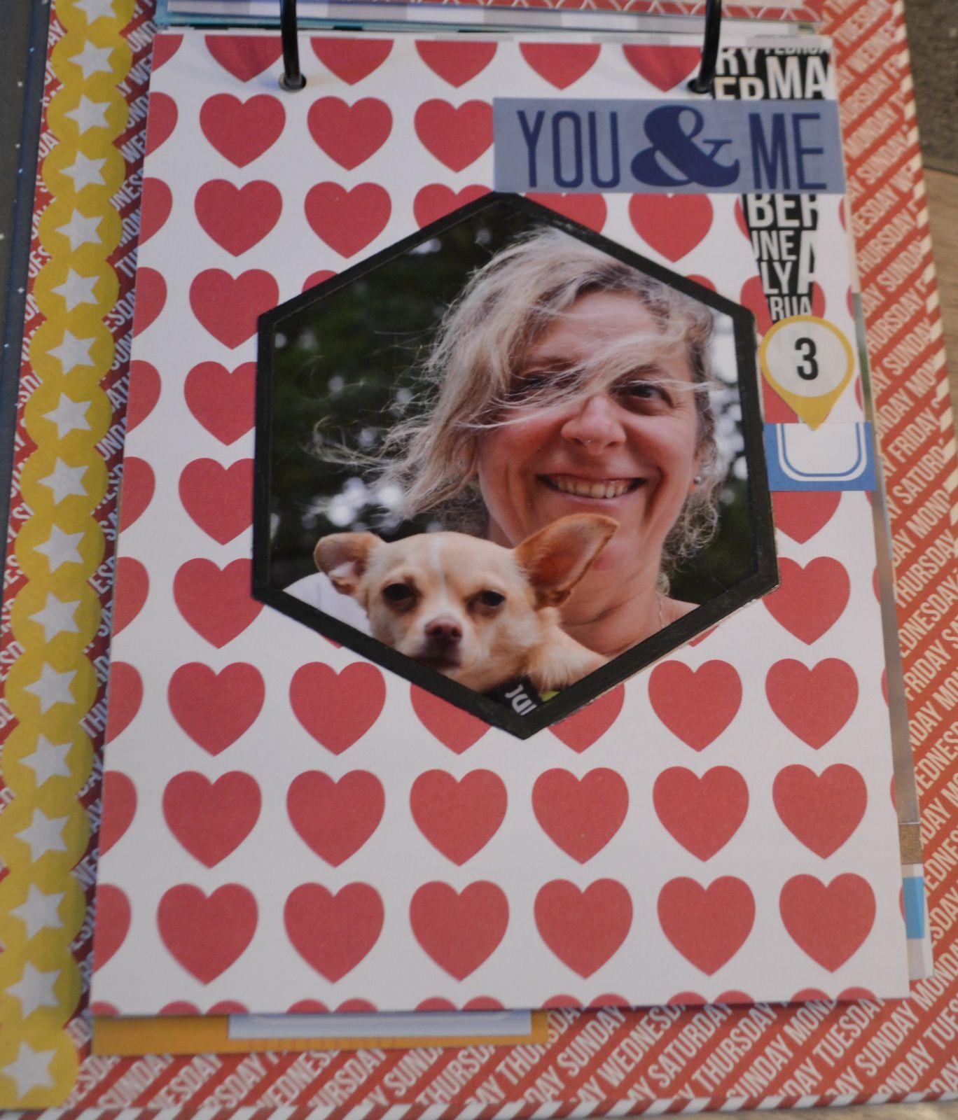 Mini album collections de moments heureux de Karine Cazenave-Tapie!