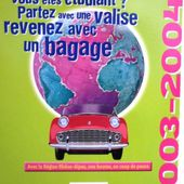 CARTE POSTALE BRFE: BOURSES REGIONALES DE FORMATION A L'ETRANGER 2003-2004 - car-collector.net
