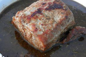 Rôti de porc à la Québécoise