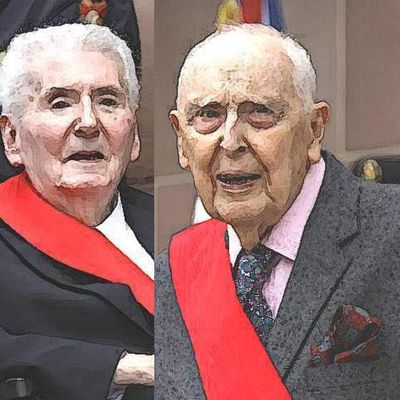 Le courage exceptionnel de deux centenaires : Daniel Cordier et Hubert Germain