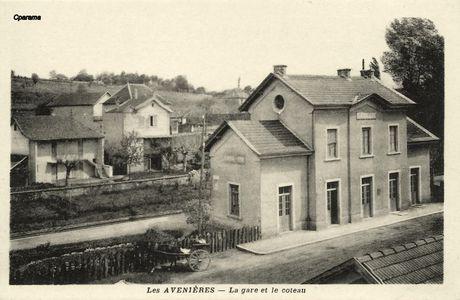 Gare des Avenières-Veyrins (38)