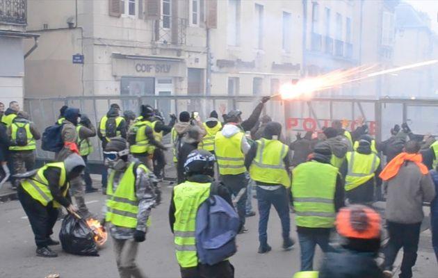 Gilets Jaunes : mes vidéos au coeur des événements dijonnais