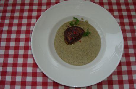 Crème de lentilles & escaloppe de foie gras