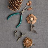 Pinecone Boutonnieres