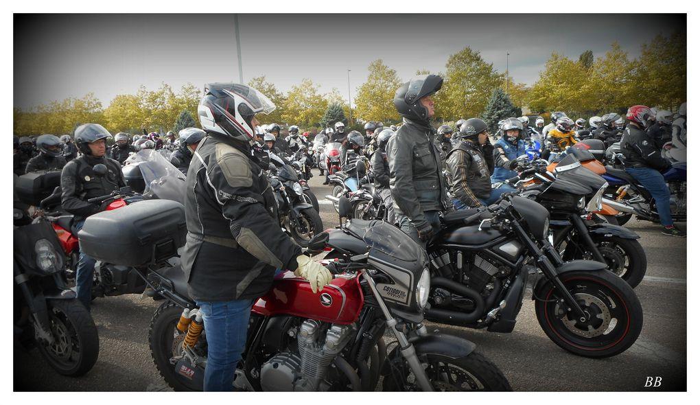 Manifestation FFMC le samedi 10 octobre 2015 Metz Nancy