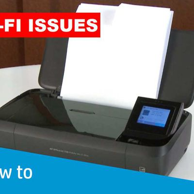 HOW TO TROUBLESHOOT HP PRINTER WI-FI ISSUES?