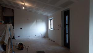 Atelier Cuisine-SAM : électricité, évacuation et peinture