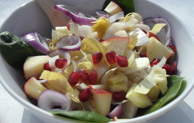 """Salade Hivernale """"coup de peps"""""""