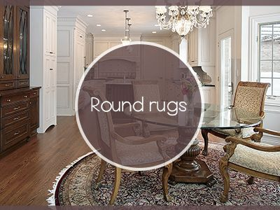 Decorate Your Living Area with Round Rugs!