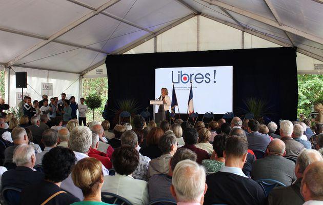 """Discours de Valérie Pécresse à Brive : """"Incarner une alternative non populiste, une alternative populaire à Macron"""""""