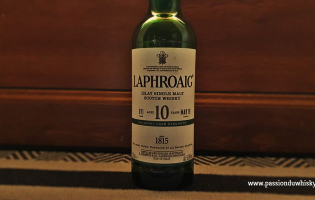 Laphroaig 10Y - Original Cask Strength