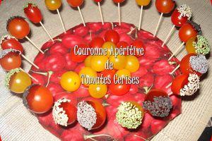 Couronne Apéritive de Tomates Cerises