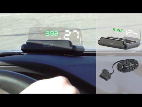 Bon plan - l'affichage de vitesse tête haute à installer soi même dans la voiture - OBD2