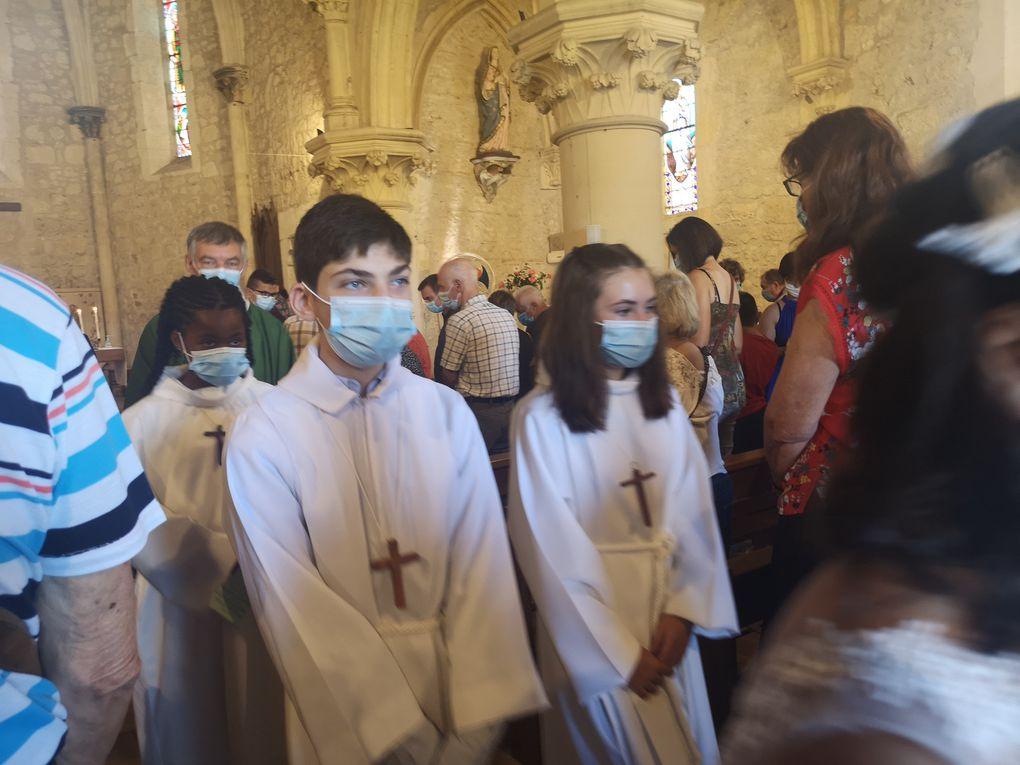 Profession deFoi  et première communion 13-06-21