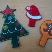 Noël chez Bernina - Elkalin.Couture,broderie main machine
