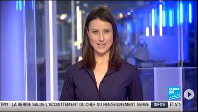 2013 05 30 - AUDE LECHRIST - FRANCE 24 - PARIS DIRECT @23H00