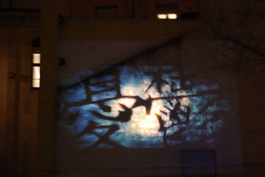 """projection du """"Bûcheron des mots"""" au centre du patrimoine arménien Photos de Hefang Wei"""