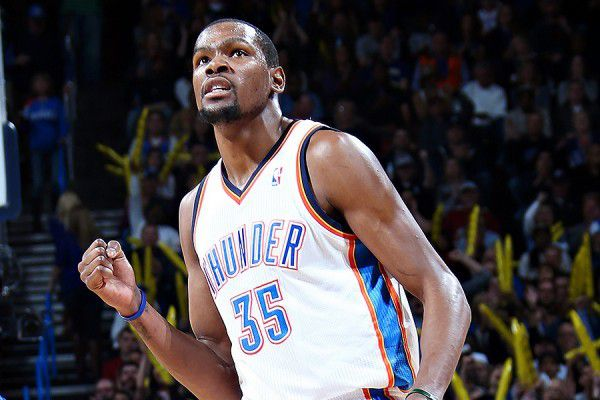 Kevin Durant absent une semaine