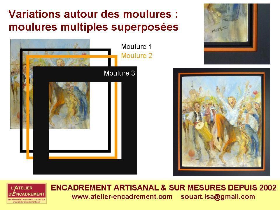 Voici un album présentant les principaux types d'encadrements que l'Atelier peut réaliser  pour tous les types de sujets et livrer sur toute la France.