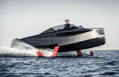 Foiler: The flying yacht ready to wow the French Riviera