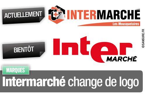 Intermarché change de logo