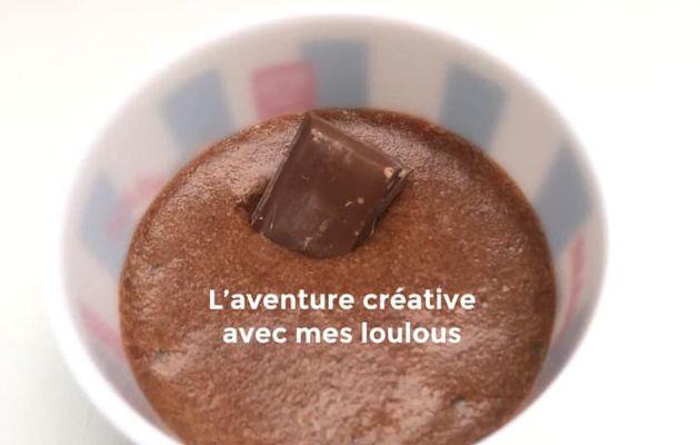 Mousse au chocolat au lait
