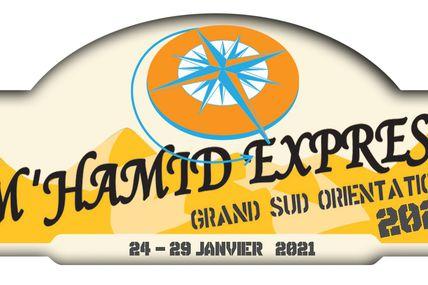 La fiche d'inscription, les tarifs du M'hamid Express 2021, du 24 au 29 janvier