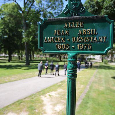 Inauguration Allée Jean Absil