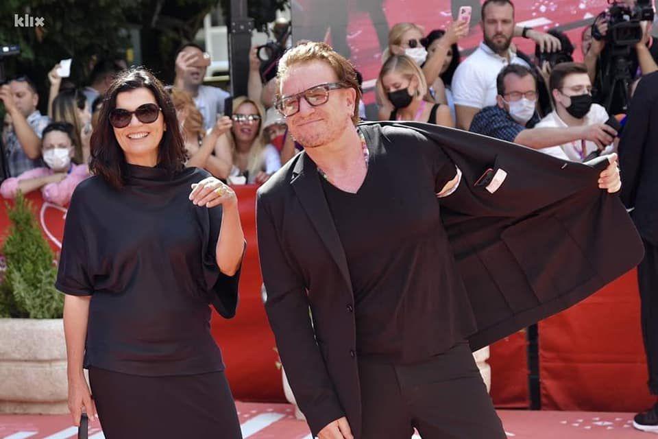 Bono, Ali et Wim Wenders au 27 èFestival du Film de Sarajevo 15/08/2021