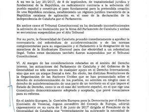 VERBATIM : Mariano RAJOY tire au 155 GE sur la Catalogne