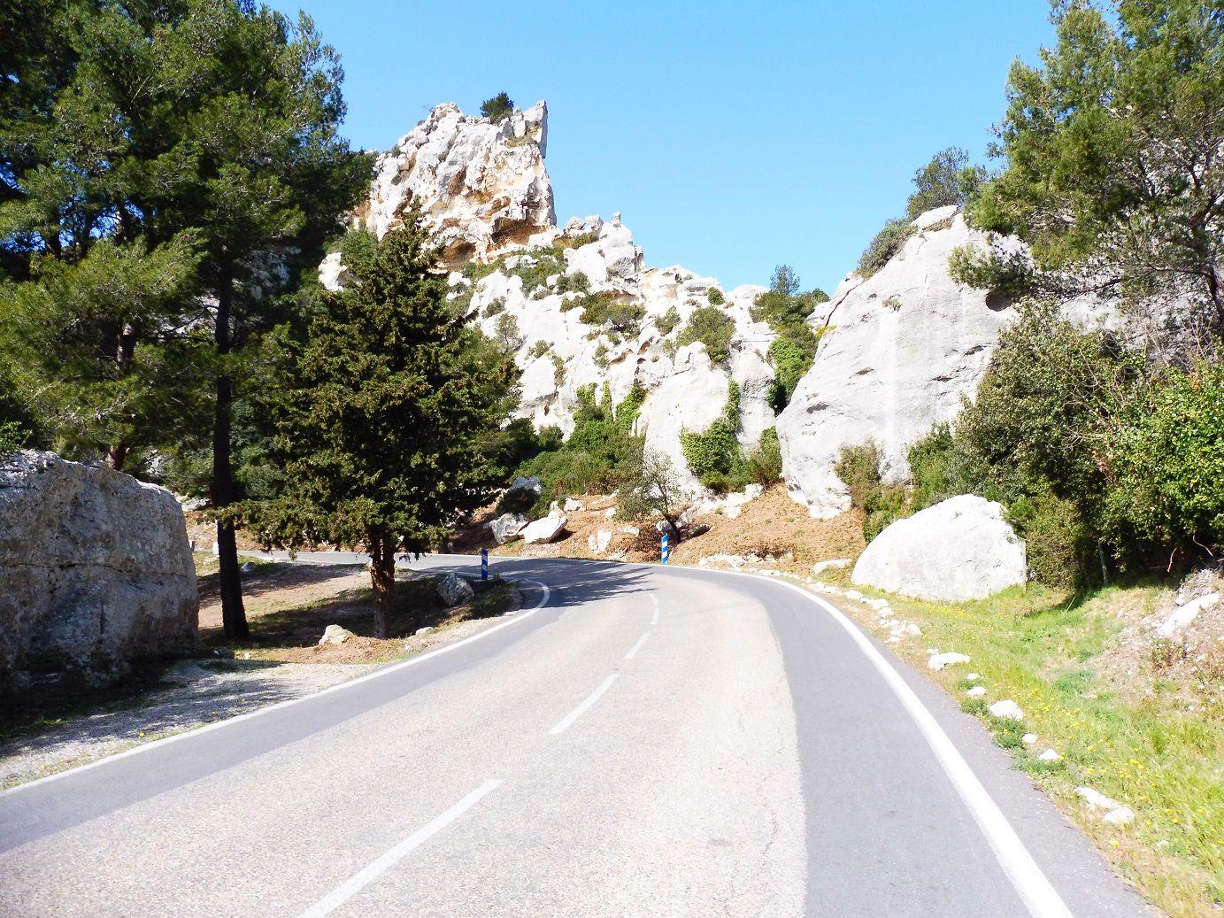 Sortie à vélo autour des Alpilles (13).