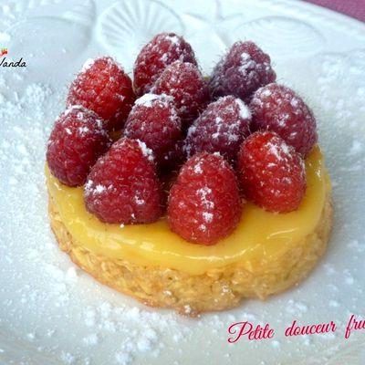 Petite douceur fruitée ( pommes, agrumes et framboises)