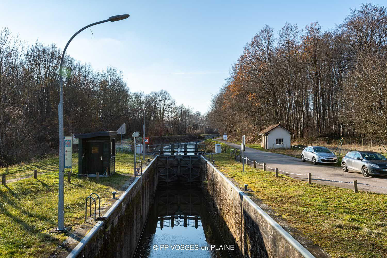 Le Canal des Vosges et la Montée de GOLBEY
