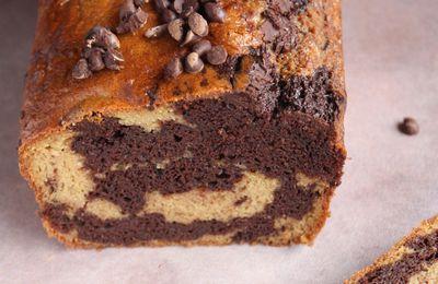 Le marbré aux pépites de chocolat de Valérie revisité (et mes astuces pour alléger vos pâtisseries)